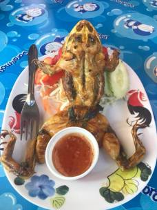 Cook frog thailand